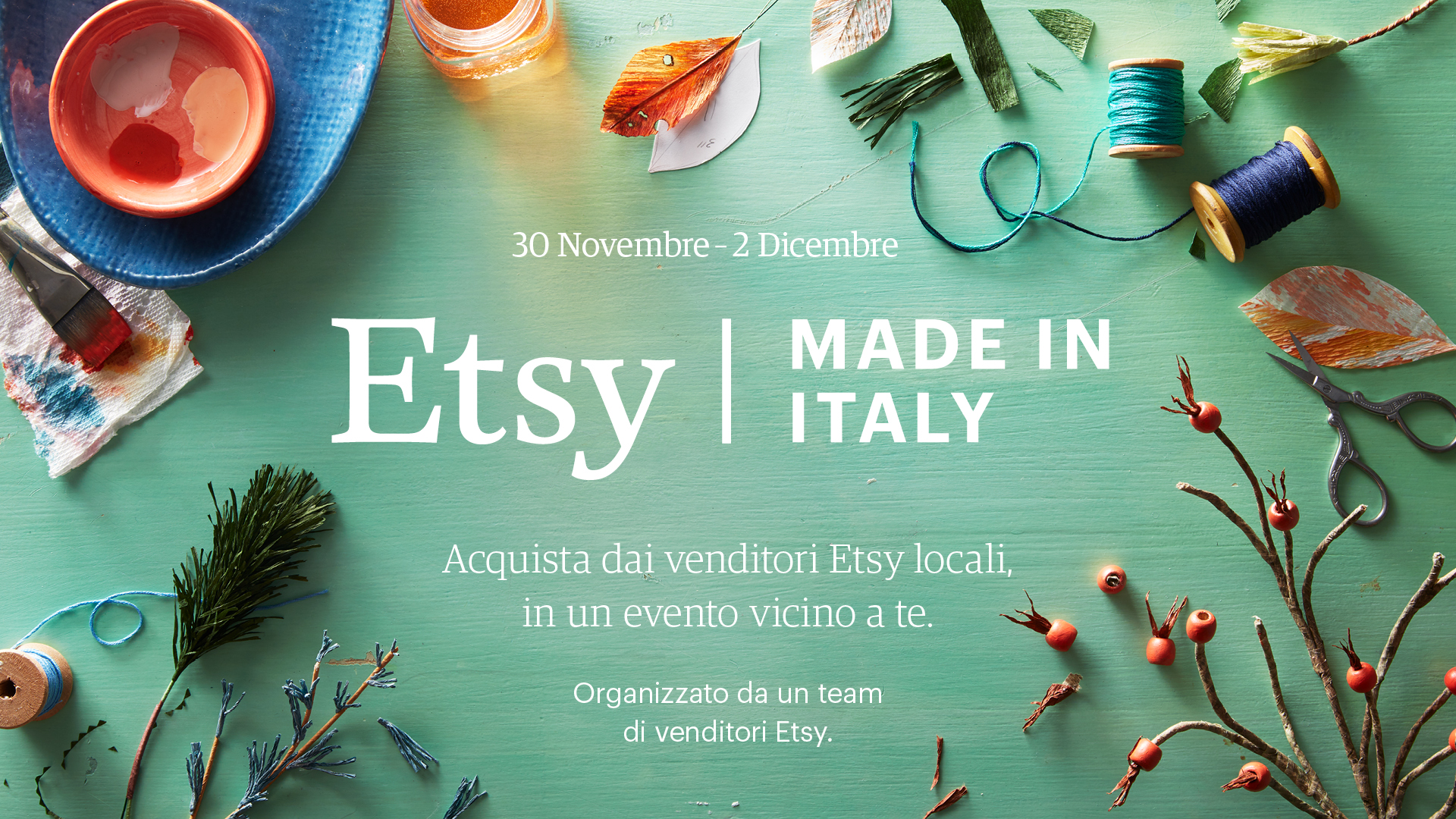 Mi.La Comunicazione - Made in Italy FabricUp accende il Natale romano di Etsy 1
