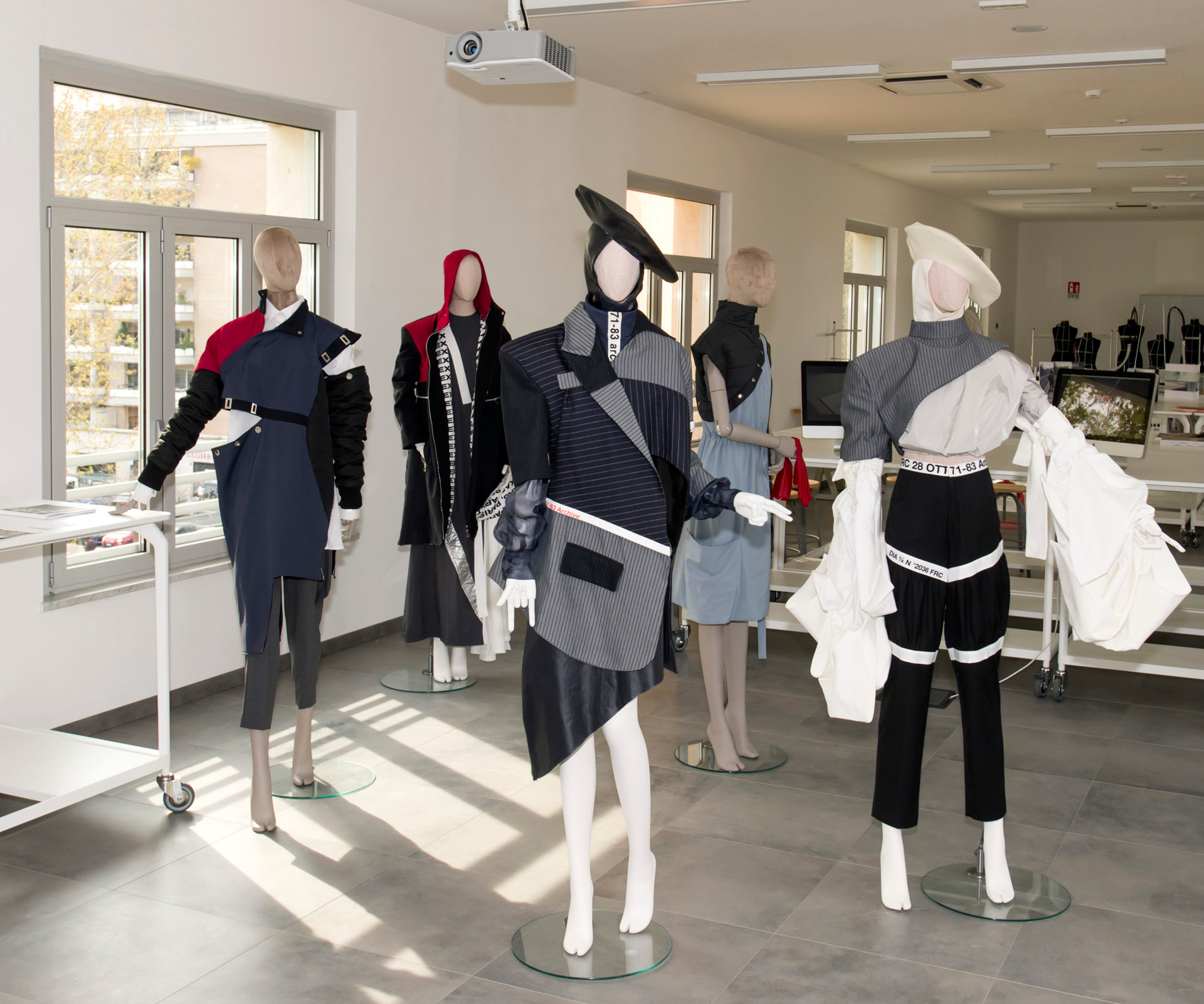 inaugurazione campus naba fashion moda a garbatella