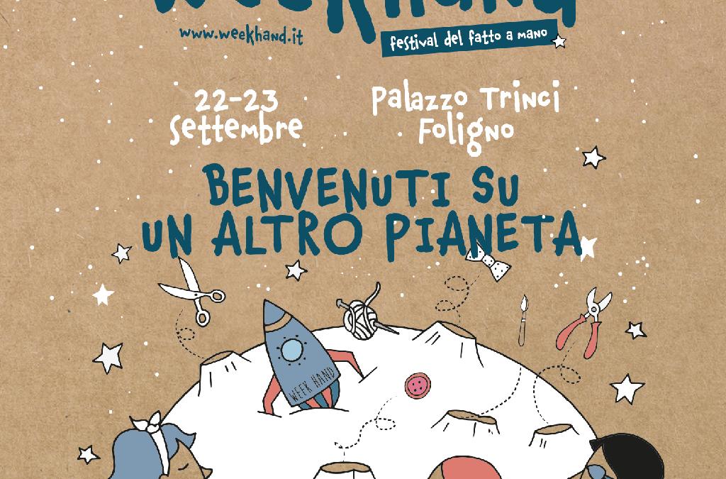 Week hand Festival a Foligno: un'edizione spaziale